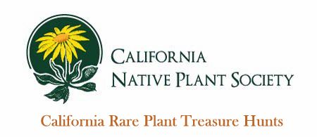 California Rare Plants Treasure Hunts