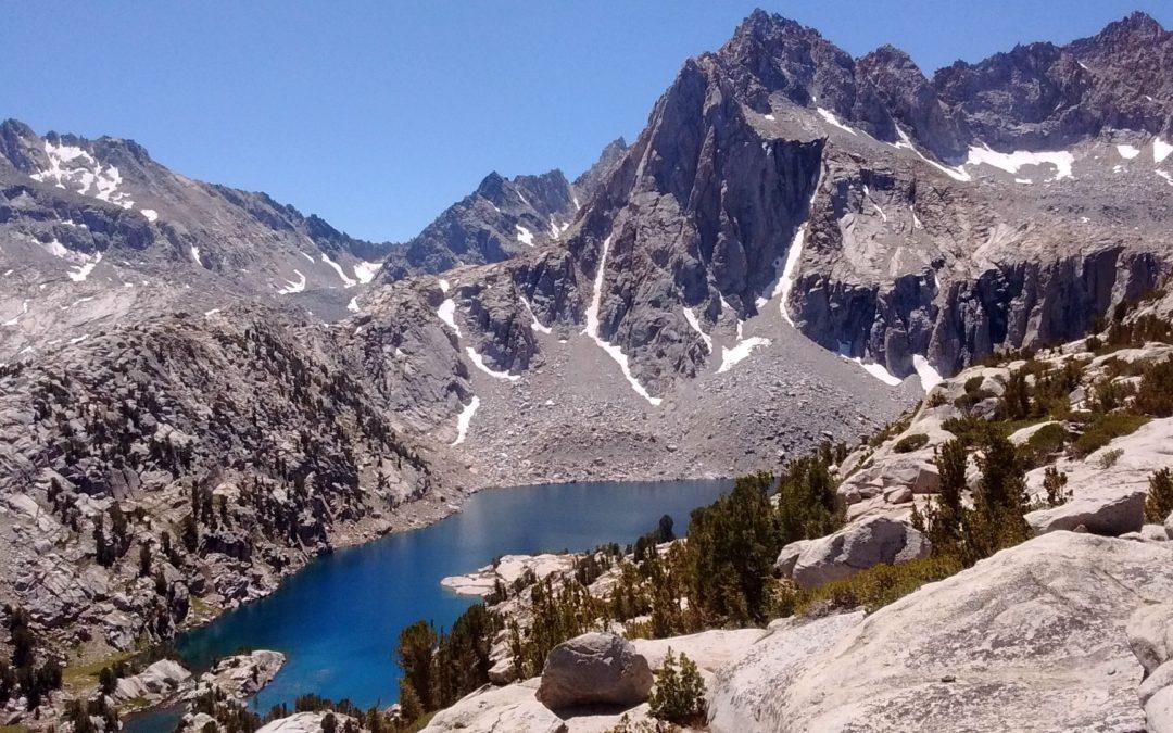 August in the Sierra Nevadas