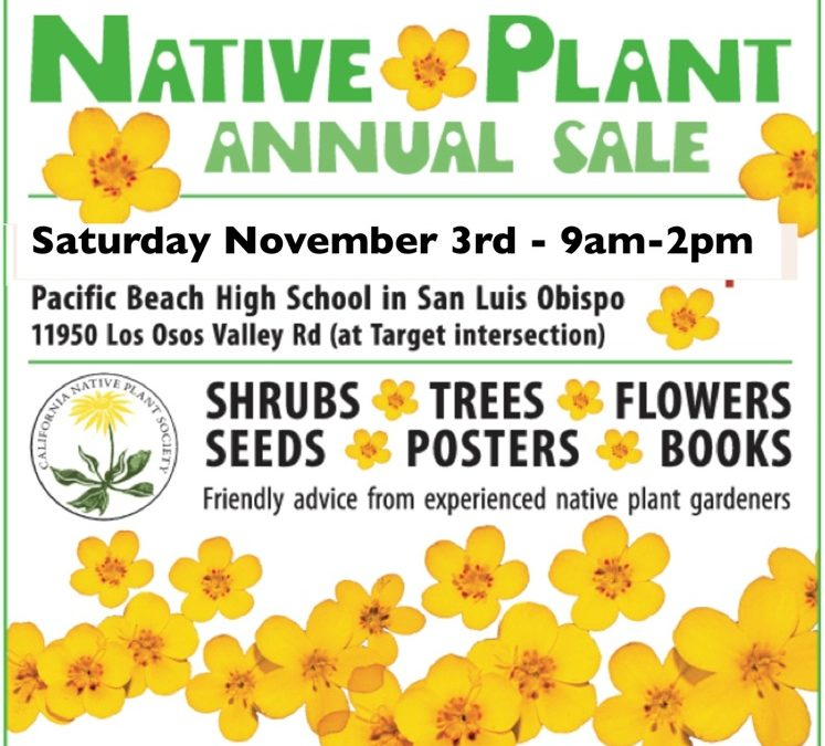2018 Native Plant Sale