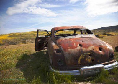 Carrizo Plain old car Richard Pradenas