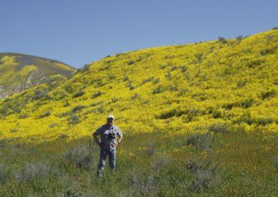 Steve CNPS field trip Elkhorn Rd Carrizo Plain