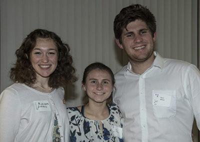 Cal Poly Assistants Celeste Doiron, Molly Vanderlip, Kieran Althaus