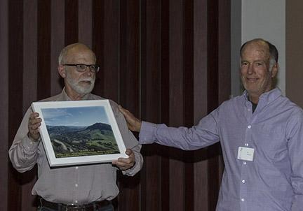 Dr. David Keil and President Bill Waycott